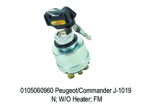 Commander J-1019 N; WO Heater; FM