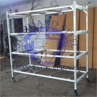 Mortuary Storage Rack 4 shelve