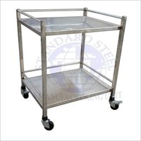 Mortuary Instrument Trolley 2 Tier