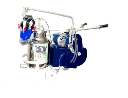 Motorized Single Bucket Milking Machine