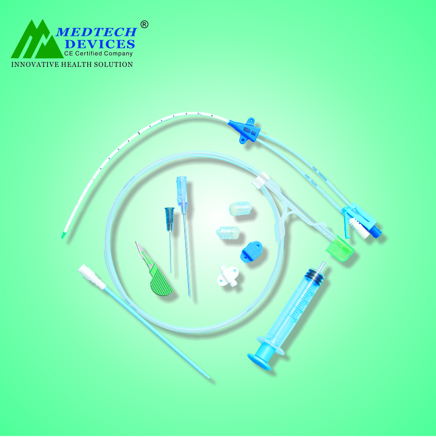 Central Venous Catheter Double Lumen Kit