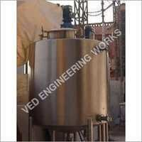 Insulated Milk Storage Tank