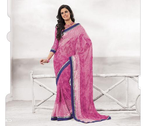 Designer  Pink Sarees