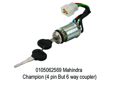 Mahindra Champion (4 pin But 6 way coupler)