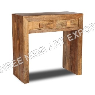 Cube Furniture Mango wood Console Table