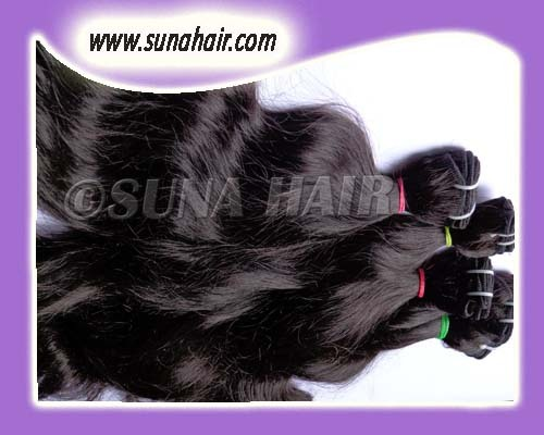 Charming weft straight hair