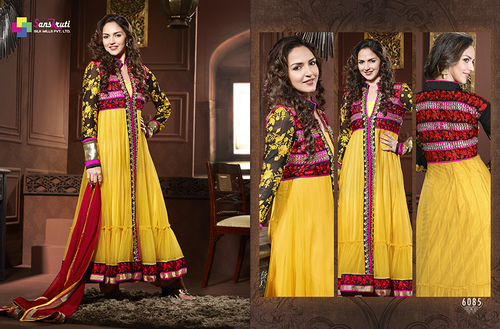 Traditional Anarkali Suit