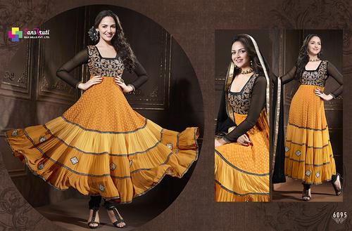 Traditional Anarkali Suit