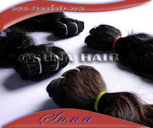 World famous quality natural curly human hair