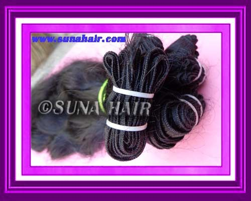 Natural soft wavy new arrival human hair