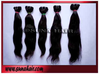 Virgin hair not shedding straight hair