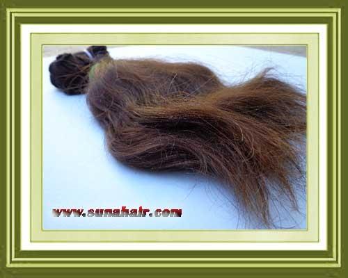 Wonderful quality elegant brown color human hair