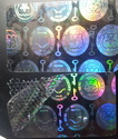 Authentic Seals And Keys Hologram Overlay