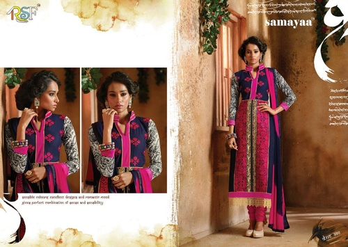 Cotton Embriodered Suit