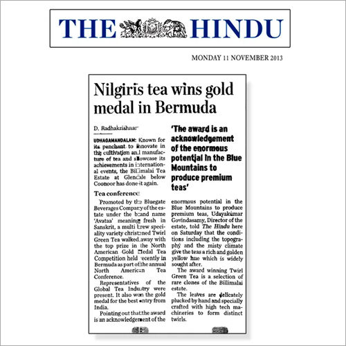 Gold Medal in Bermuda