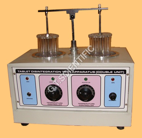 Tablet Disantigration Test Appartus (Double Unit)
