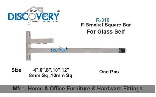 F - Bracket Square Bar
