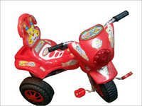 Kids Plastic Tricycle Goldy