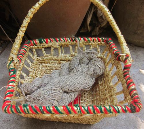 Nettle Handspun yarn