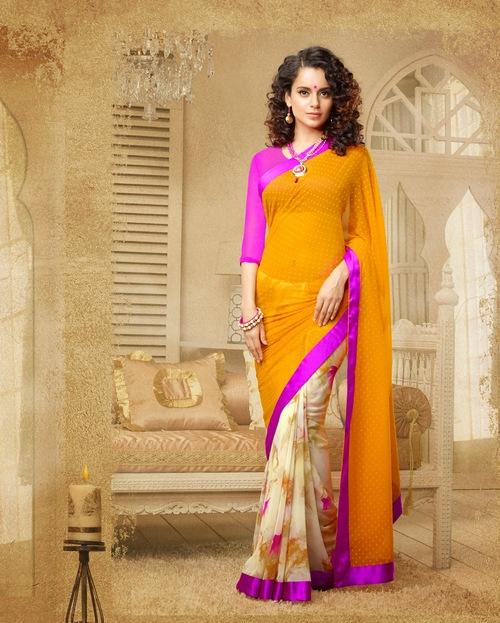 Colorfull Printed Sarees