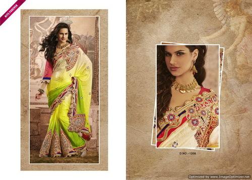 Beauteous Designer Bridal Sarees
