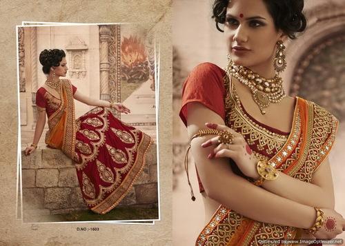 Stunning Designer Bridal Sarees