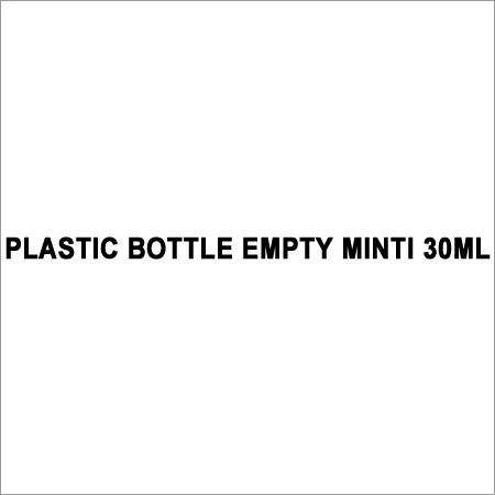 Minti Empty Plastic Bottle