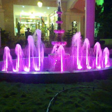 Lighting Water Fountain