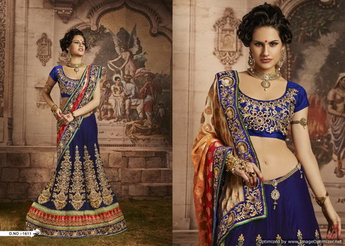 Attractive Designer Bridal Sarees