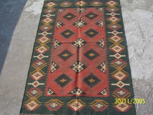 Washable cotton rug