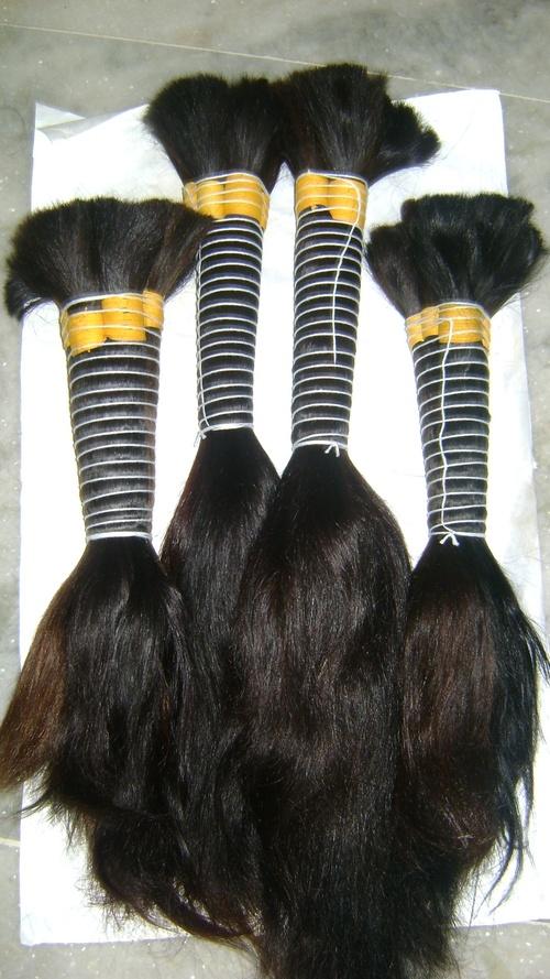 straight bulk indian hair