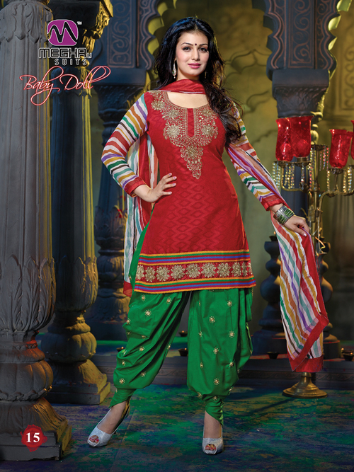 Embroidered Cotton Suits