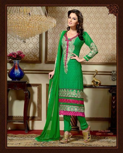 Georgette Long Women Salwar Suits