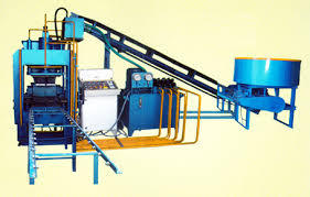 Fly ash brick making machene