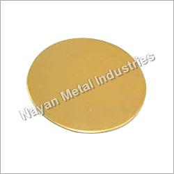 Round Brass Circle