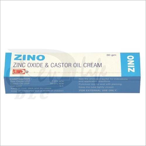 Zinc Oxide and Castor Oil Cream