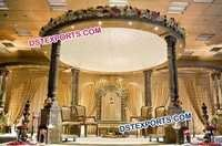 Indian Wedding Wooden Mandap Set