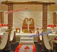 INDIAN WEDDING SONA CHANDI STAGE