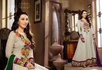 Floral Embriodered Anarkali