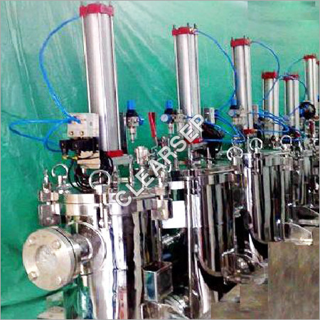Automatic Piston Operated Self Cleaning Filters