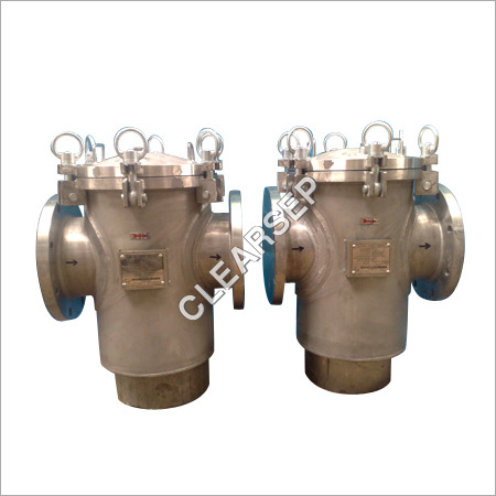Clearsep In Line Basket Filters Strainers