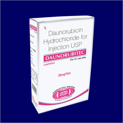 Daunorubicin Hydrochloride for Injection USP 20 mg