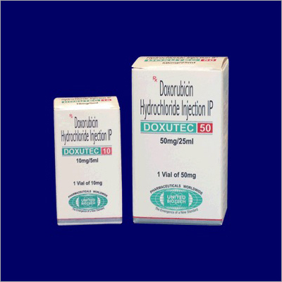 Doxorubicin Hydrochloride Injection IP 10 mg