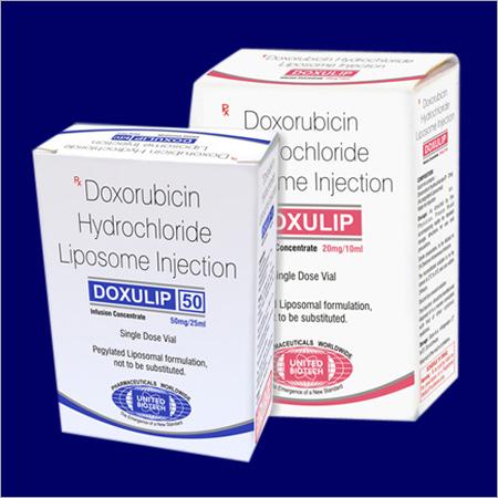 Doxorubicin氯化物脂质体射入