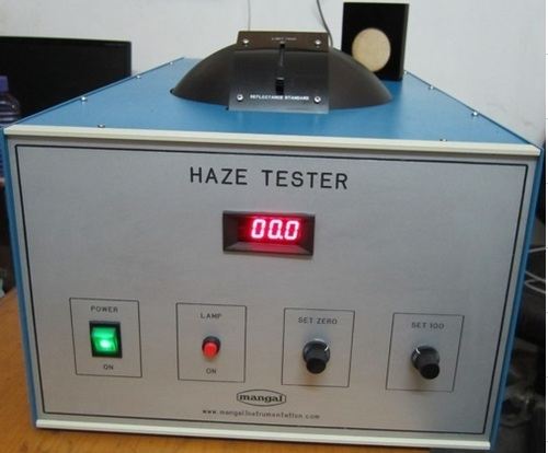 Haze tester for shadenets & Films