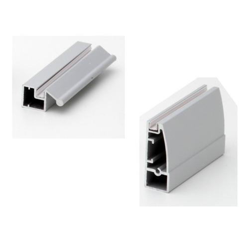 Aluminium Shutter Profile Curve Type