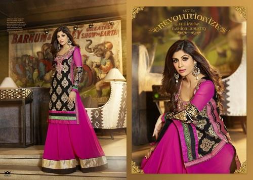Karma Bollywood Shilpa Shetty Bridal Pink Color an