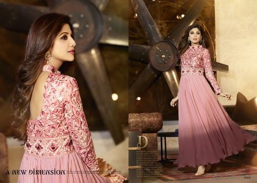 Karma Bollywood Shilpa Shetty Fabulous Pink Color