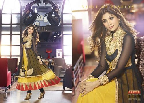 Karma Bollywood Shilpa Shetty Amazing Black & Yell