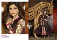 Karma Bollywood Shilpa Shetty Unique Black and Geo